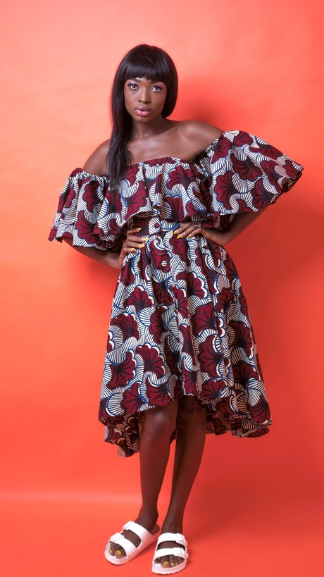 Nala African Print Two Piece from Atelier D'Afrique