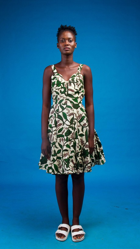 Imani African Print Dress from Atelier D'Afrique