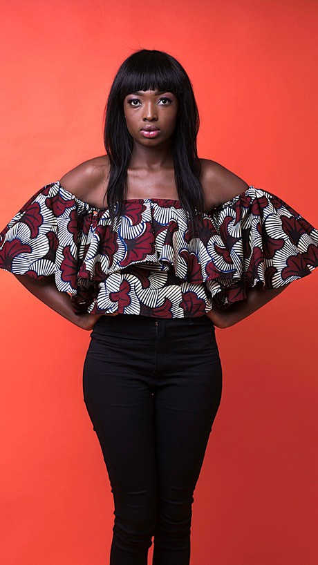 Alicia African Print Top from Atelier D'Afrique