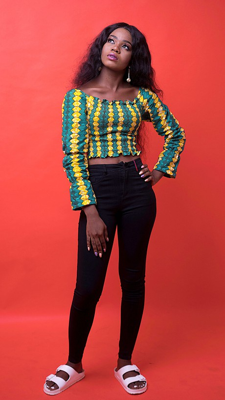 Kessie African Print Top from Atelier D'Afrique