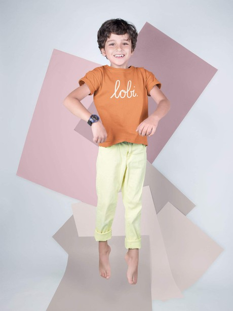 LOBI KIDS T-SHIRT SINAASAPPELORANJE from BLL THE LABEL
