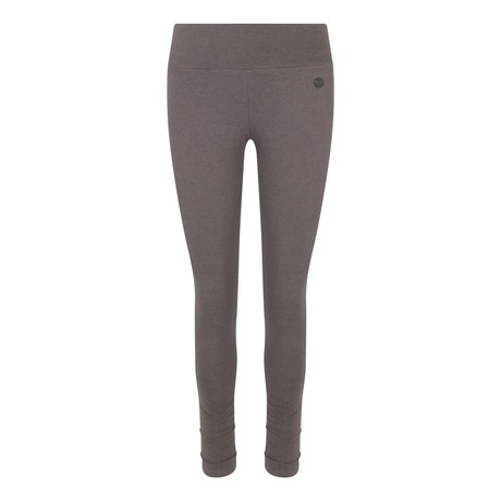 Ruched Bottom Leggings Charcoal from chaYkra