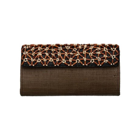 Faye Clutch Brown from Disenyo