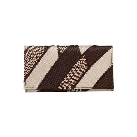 Dahon Wallet Banded Brown Cream from Disenyo
