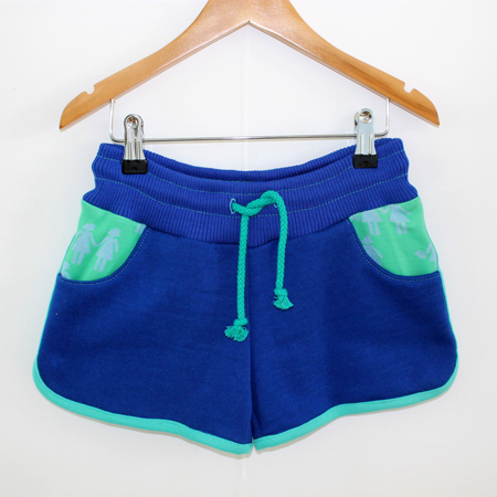 Hotpants blauw from Dress en Les