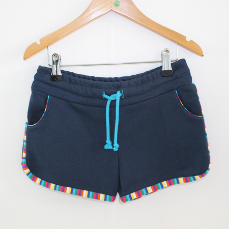 Hotpants streepje blauw from Dress en Les