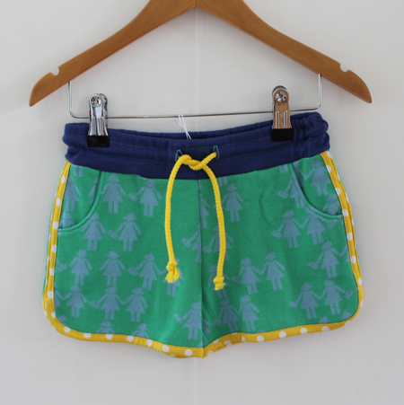 Hotpants stippeltje geel from Dress en Les
