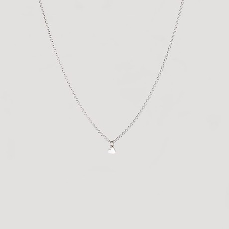 Tiny heart necklace silver from Julia Otilia