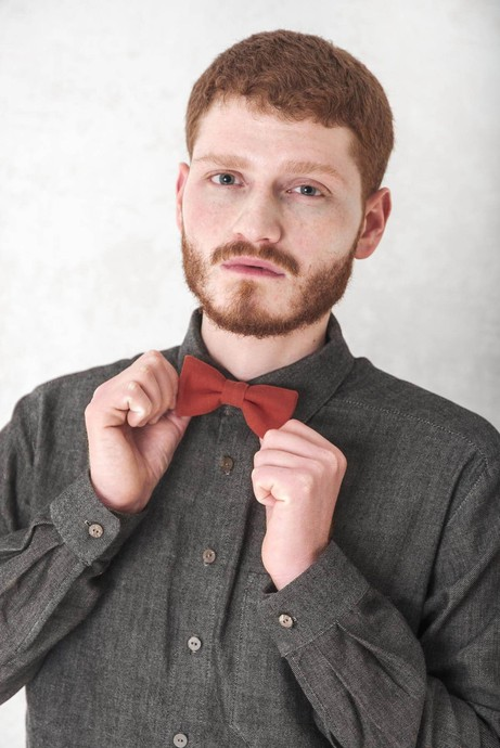 Bow tie Udhan Mahogany from Jyoti - Fair Works
