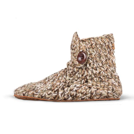 Camo High Top Wool Slippers for Men from Kingdom of Wow!