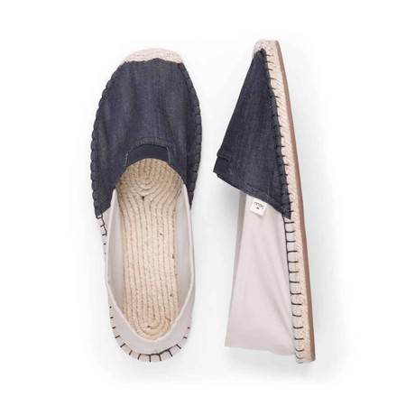 Eburnean Black ExtraFit Espadrilles for Men from Kingdom of Wow!