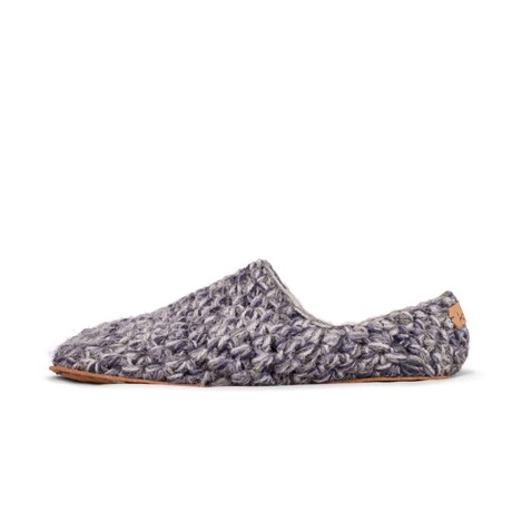 Stone Low Top Wool Slippers for Men from Kingdom of Wow!