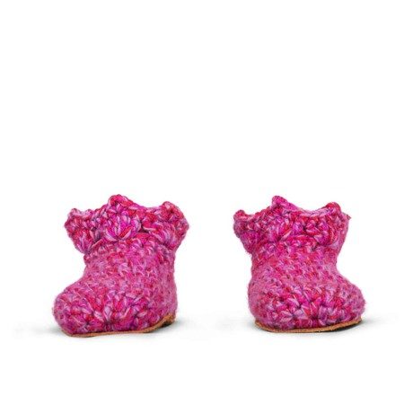 Yasmin Wool Slippers for Kids 1 - 3 yrs old from Kingdom of Wow!
