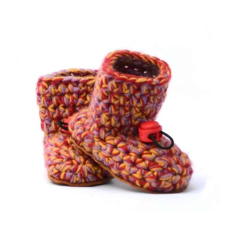 Aina Wool Baby Booties 0 - 12 mths from Kingdom of Wow!