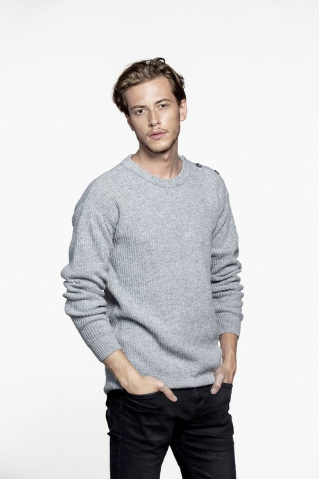Today Men Sweater – Light Grey from Loop.a life