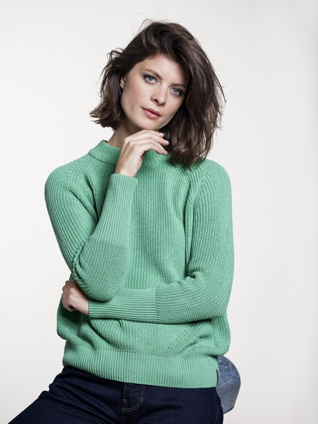 Dune Sweater – Bright Green from Loop.a life