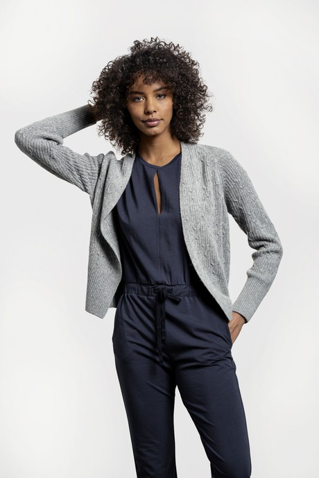 Landscape Cardigan – Light Grey from Loop.a life