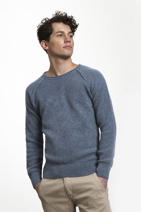 Goodmorning Jean Sweater – Lighter Indigo from Loop.a life