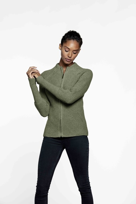 Easy Going Cardigan – Khaki from Loop.a life