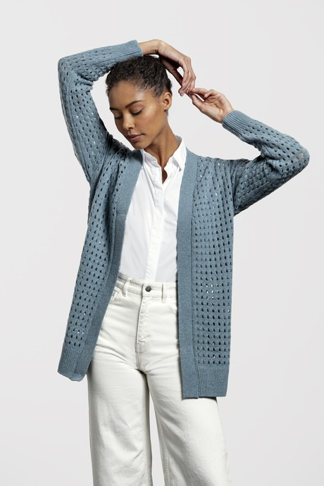 Waterfront Cardigan – Seagreen from Loop.a life