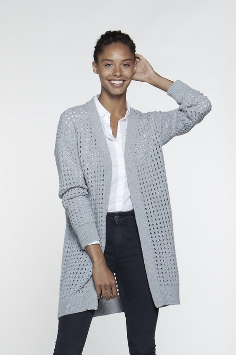 Waterfront Cardigan – Light Grey from Loop.a life