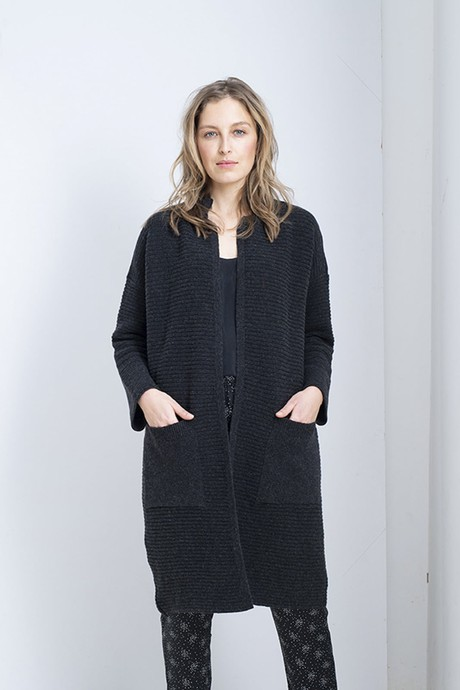 Every Day Cardigan – Antracite from Loop.a life