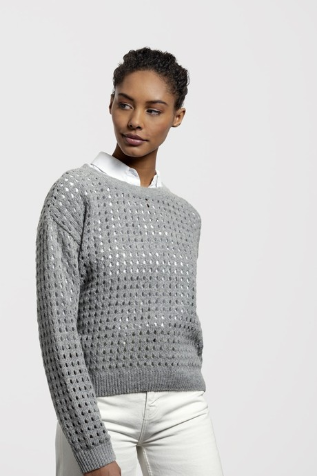 Waterfront Sweater – Light Grey from Loop.a life