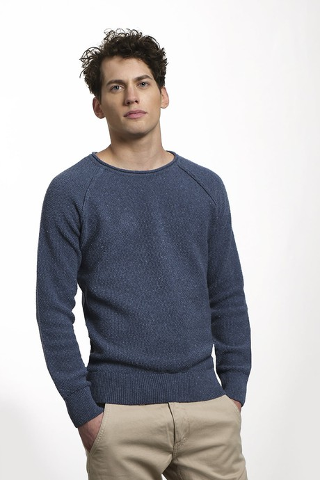Goodmorning Jean Sweater – Darker Indigo from Loop.a life