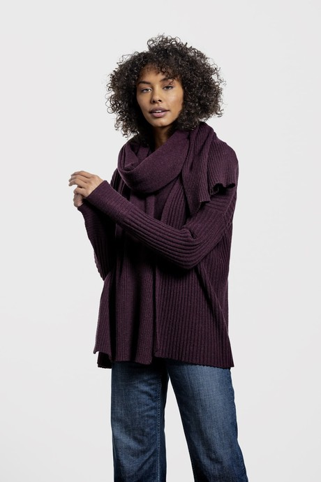 Friday Night Favorite Short Cardi – Prune from Loop.a life