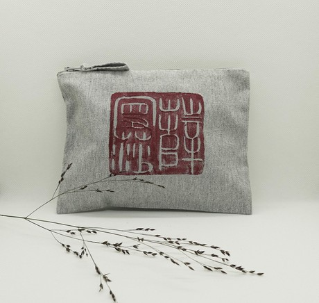 chinese stamp accessory bag from madeclothing