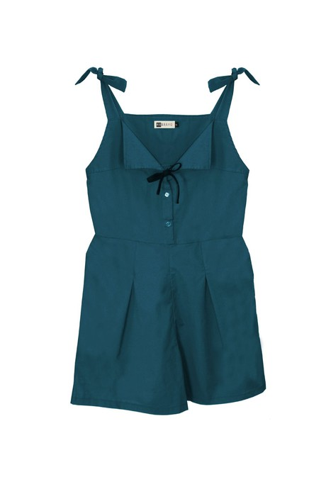 Delphine Jumpsuit Rayon - Blue from M.R BRAVO