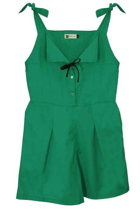 Delphine Jumpsuit Rayon - Green from M.R BRAVO
