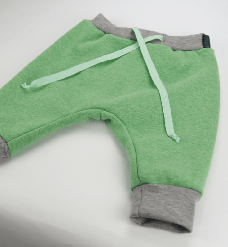 Dikke winterbroek in groen met fleece  Mint To Be from Noddles