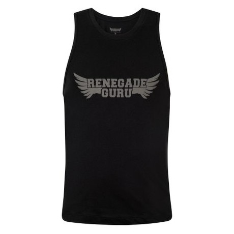 Yoga Tanktop Moksha – Urban Black from Renegade Guru