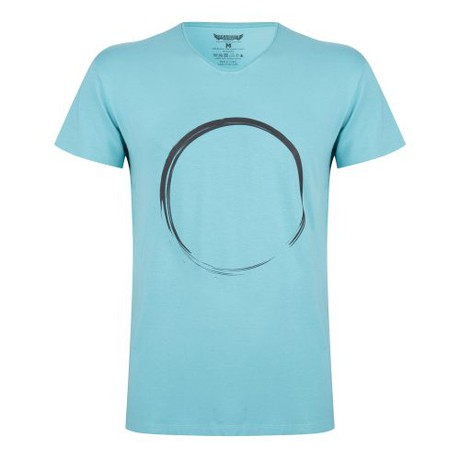 Yoga Tee Moksha Zen – Sea Green from Renegade Guru