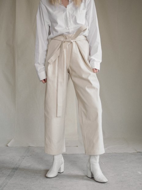Atelier Trousers Cream from The Collection One