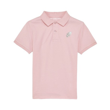 Pre-order Oscar's light pink polo shirt from The Extra Smile