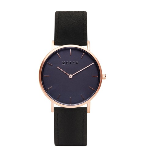 Rose Gold & Piñatex With Black | Classic from Votch