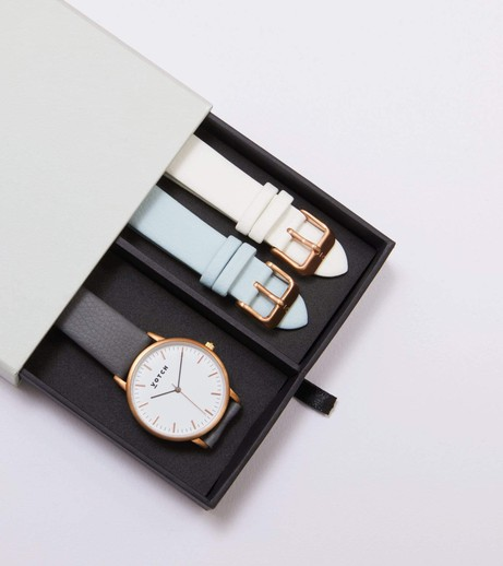 Rose Gold & Slate Grey | Moment Gift Set from Votch