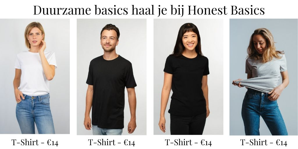 T-shirt adv Honest Basics