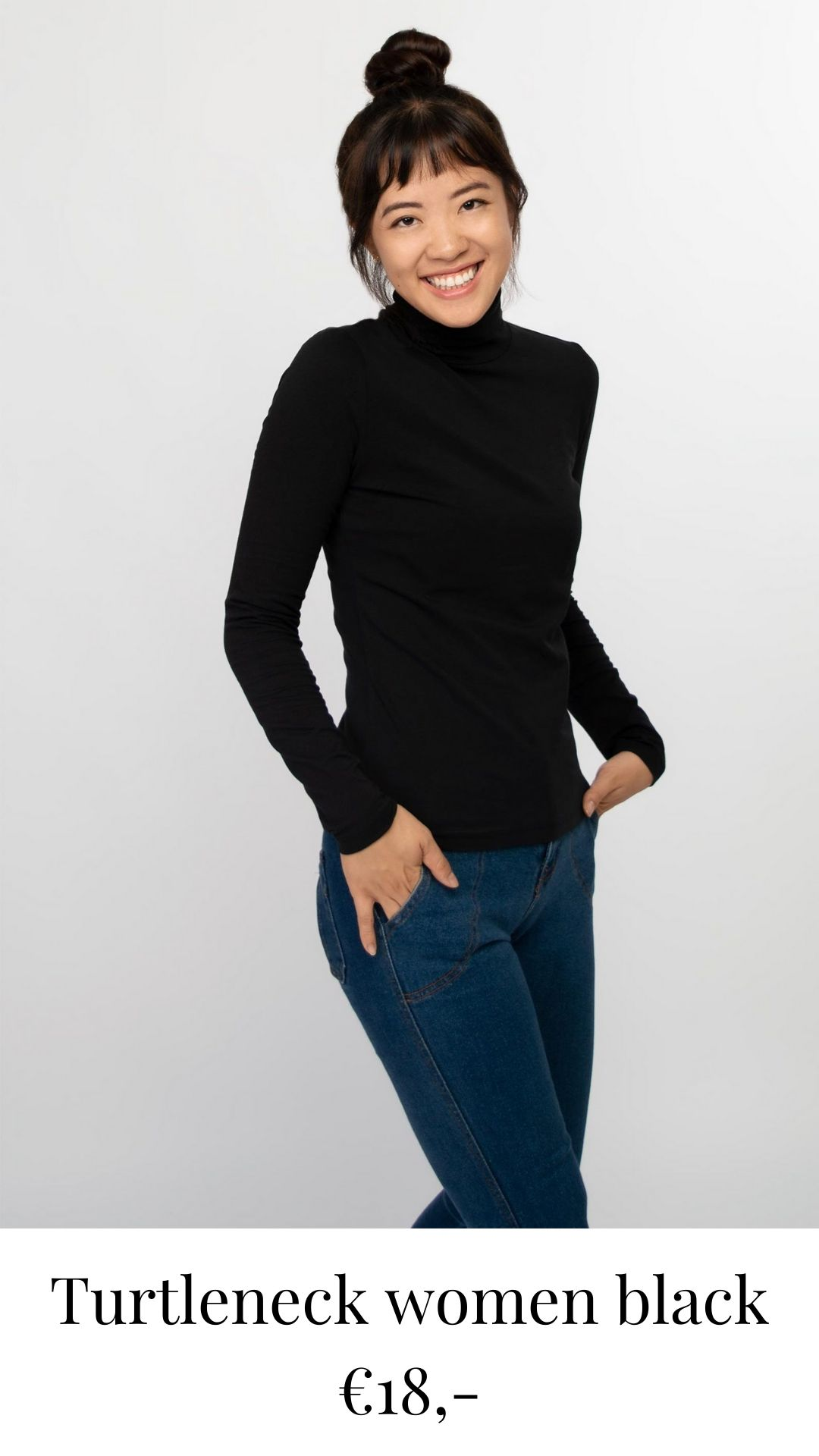 honest basics turtleneck