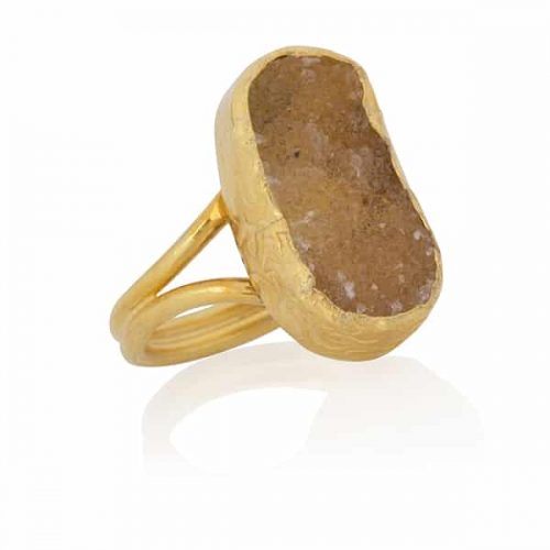Clio citrine ring from Ana Dyla