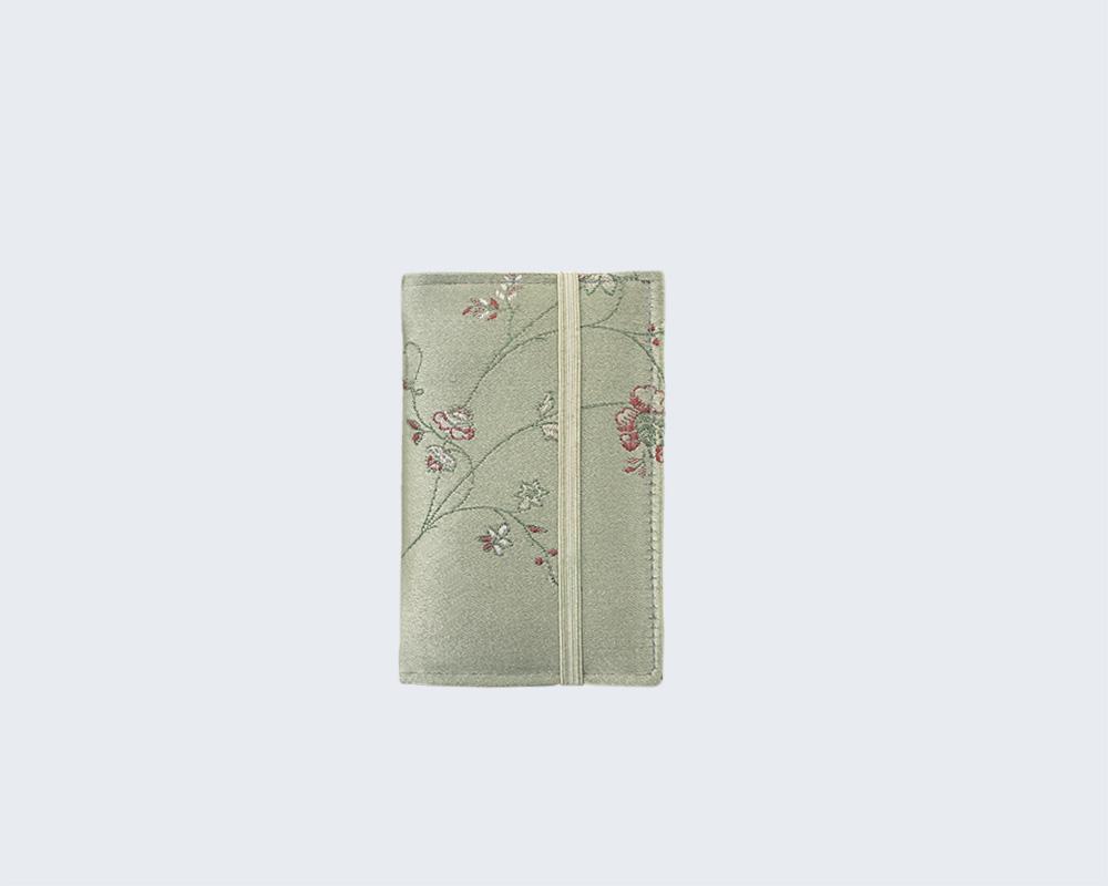 Brocade card wallet from Anekdot