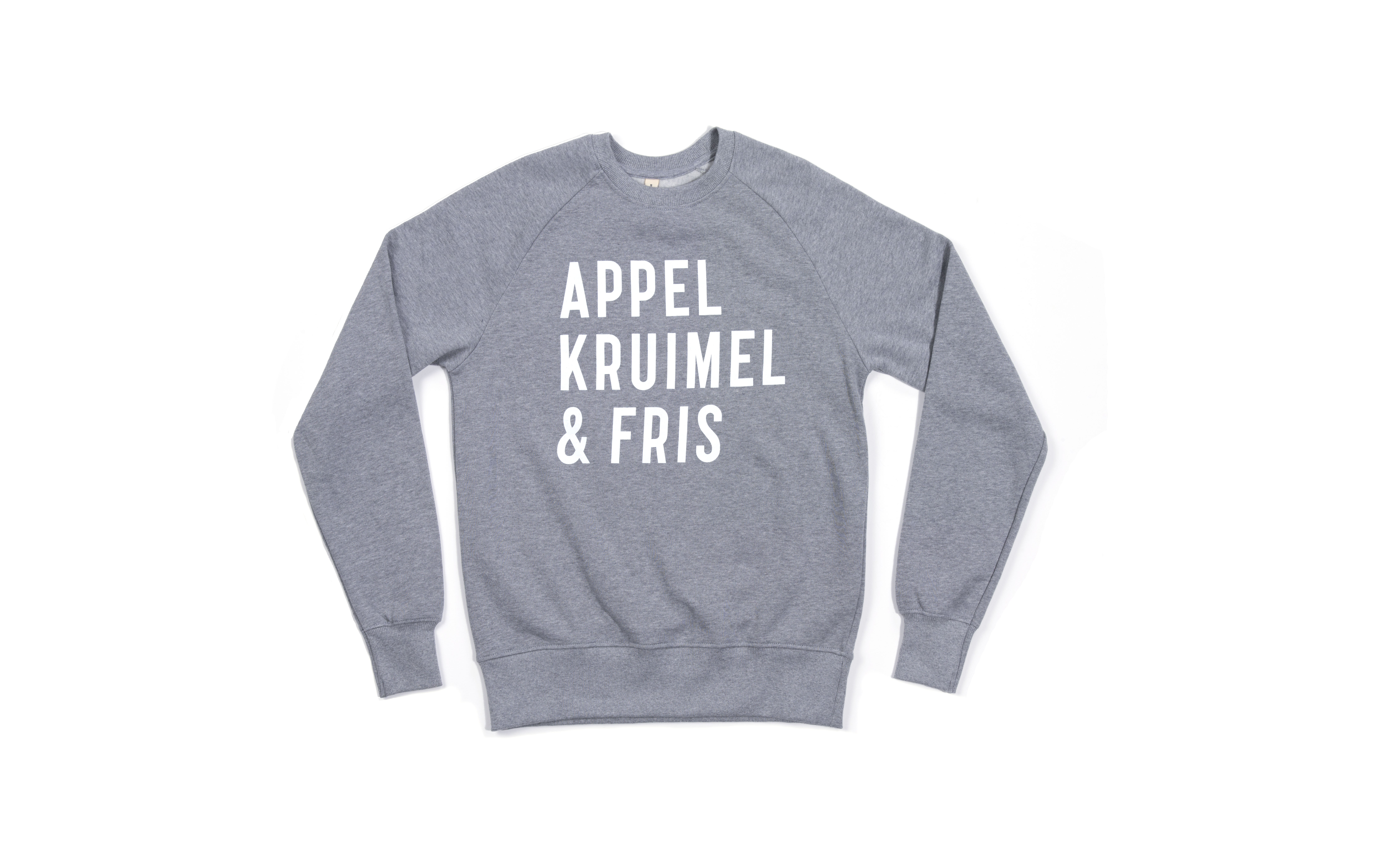 Sweater Grey Unisex from AppelKruimel&Fris