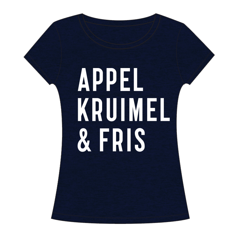 T-shirt Denim Dames – Zolang de voorraad strekt! from AppelKruimel&Fris