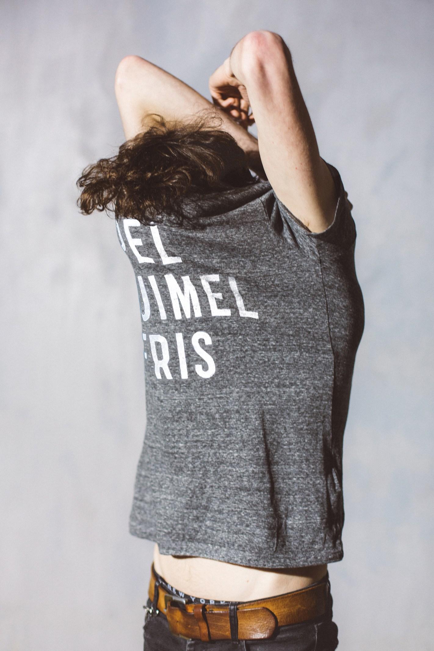 T-Shirt grey Heren from AppelKruimel&Fris