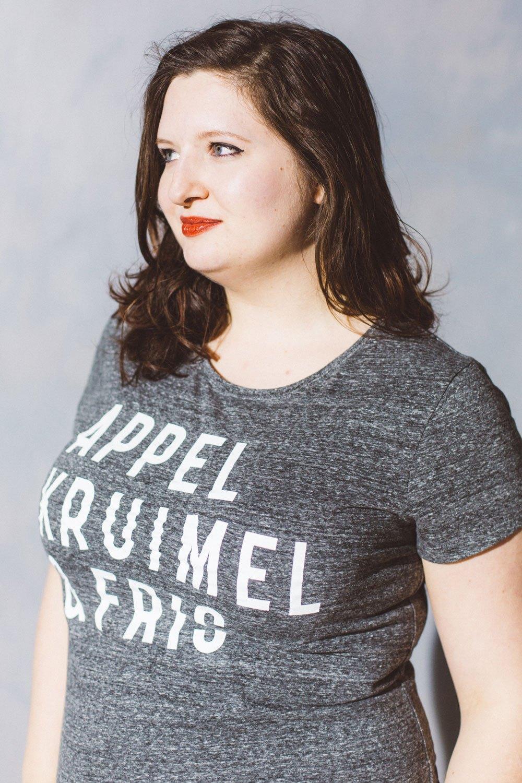 T-shirt grey Dames – Zolang de voorraad strekt! from AppelKruimel&Fris