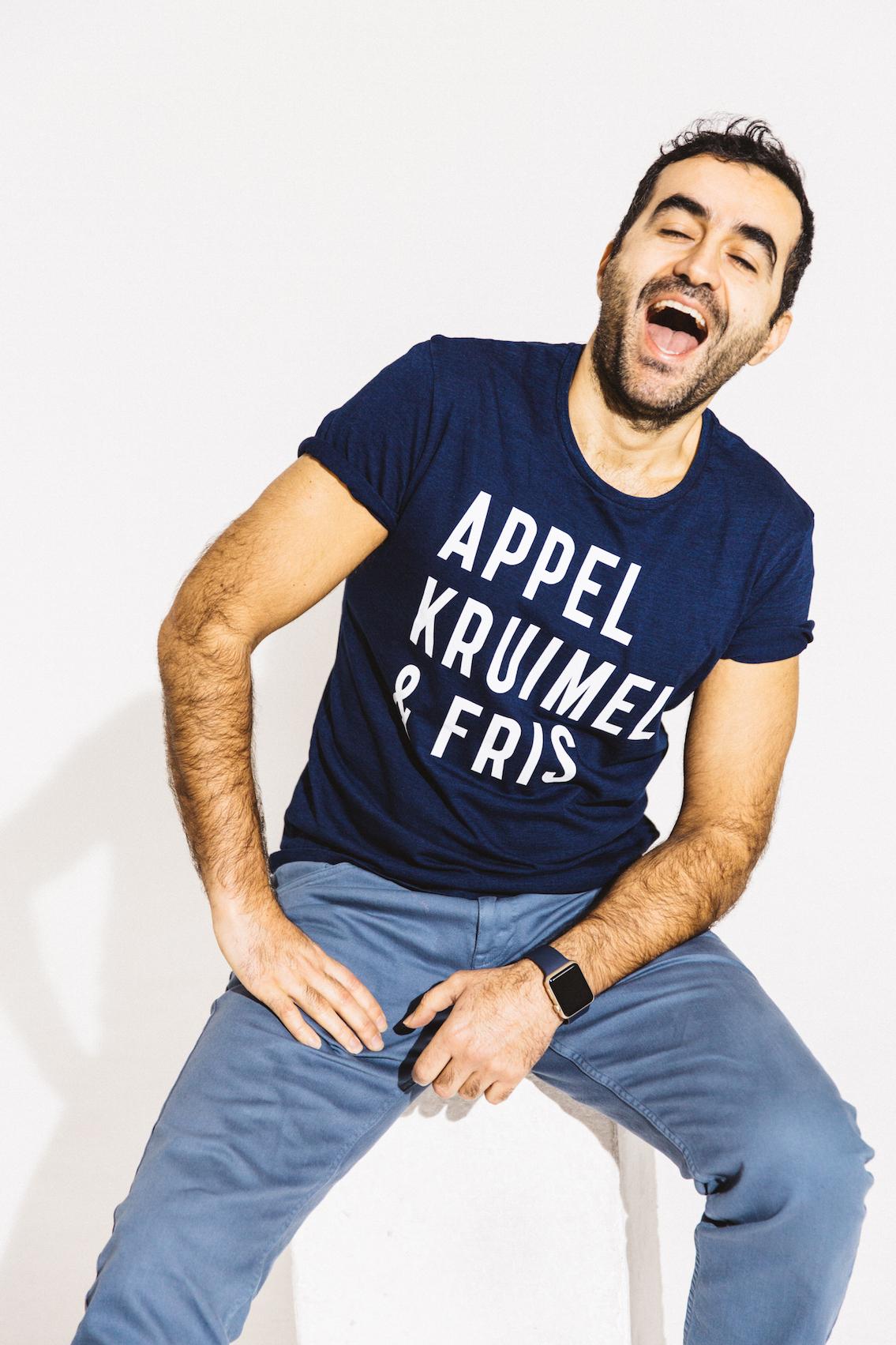 T-shirt Denim Heren – Zolang de voorraad strekt! from AppelKruimel&Fris