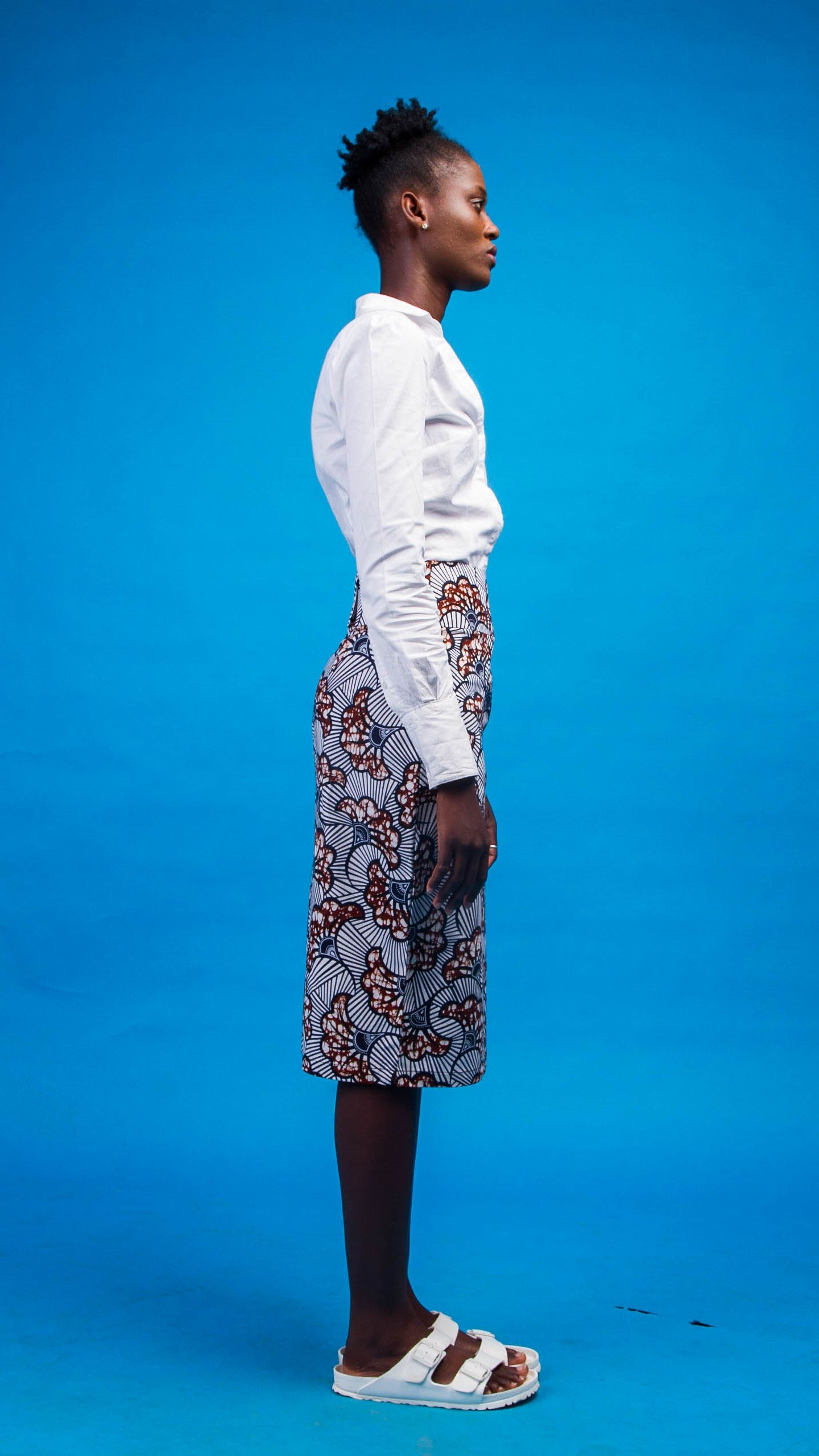 Afya African Print Skirt from Atelier D'Afrique