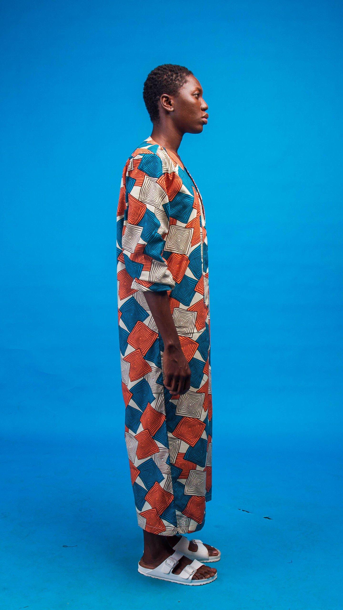 Dalia African Print Kimono from Atelier D'Afrique